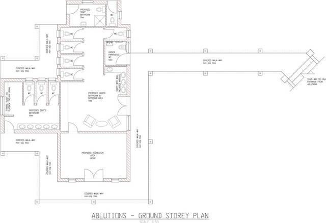 ablutions ground floor plan andante